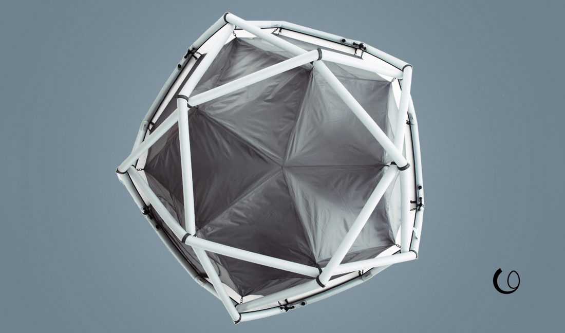"Inflatable tent ""The cave"", Disruptive Innovation: Shaking up an industry with innovative design"