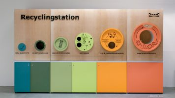 IKEA Recyclingstation by Noto