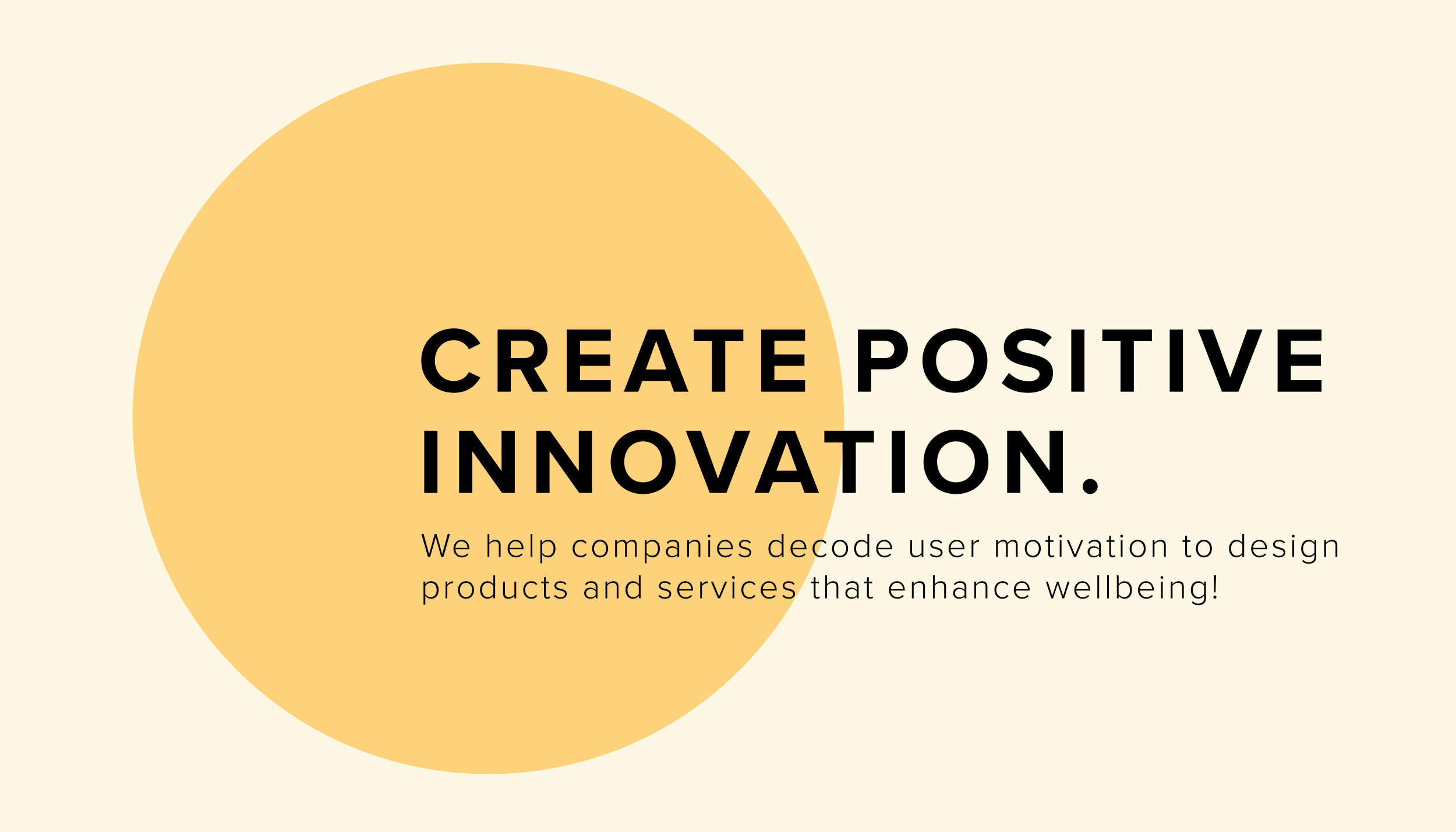 Create Positive Innovation.